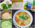 Ngon cơm với món canh nấm nấu chua