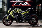 """Cận cảnh """"xế độ"""" Honda CB650F Emotion Full Carbon"""