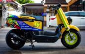"""Ngắm xe tay ga mini Yamaha Vox """"độ độc"""" phong cách GP"""