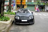 Xế sang Bentley độ Mansory phong cách mạnh mẽ tại Sài Gòn