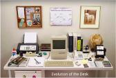 Một bức hình lột tả sự thay đổi của bàn làm việc 20 năm qua