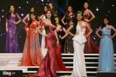 Người đẹp Hoa hậu Hoàn vũ Việt lộng lẫy với đầm dạ hội
