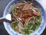 Đi Tây Ninh ăn bánh canh chay 3.000 đồng