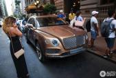 Siêu SUV Bentley Bentayga lần đầu lăn bánh ngoài đời thực