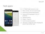 Slide rò rỉ xác nhận thiết kế, cấu hình, màu sắc smartphone Nexus 6P