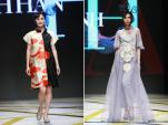 NTK Minh Hạnh mang vải kimono về tuần thời trang Việt