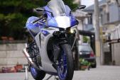 """""""Hô biến"""" Yamaha R25 thành siêu môtô R1 đời mới nhất"""
