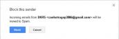 Chặn triệt để email chuyên spam trên Gmail