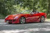 """Tuyệt phẩm"" mui trần Ferrari 599 SA Apertas giá 30,2 tỷ"