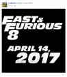 """Phần 8 Fast & Furious """"chốt lịch"""" công chiếu vào năm 2017"""