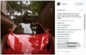 "Sao bóng đá Neymar Jr. ""tậu"" siêu xe Ferrari 458 Spider"