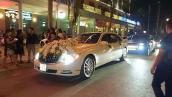 Dàn xe sang trị giá hơn 60 tỷ rước dâu tại Thái Nguyên