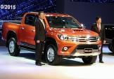 Ra mắt xe bán tải Toyota Hilux 2015, có bản số tự động