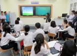 Samsung tặng lớp học thông minh 1 tỷ đồng cho trường Trần Phú