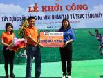 FPT trao tặng 50 bộ máy vi tính cho tỉnh đoàn Bình Định