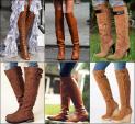 Boots cao cổ hứa hẹn 'oanh tạc' làng thời trang thu đông 2015