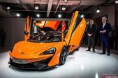 Siêu xe McLaren 570S Spider sẽ ra mắt vào năm 2017