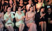 Ngắm dàn hoa hậu ngồi hàng ghế đầu say sưa xem thời trang
