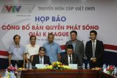 VTVcab sở hữu bản quyền giải bóng đá K League trong 3 mùa giải