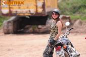 """Nữ biker Việt """"cực phủi"""" bên Honda 67 và Yamaha Exciter"""