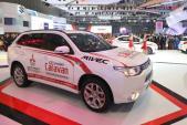Tinh thần thi đấu Ralliart của Mitsubishi Motors tại triển lãm oto Việt Nam 2015