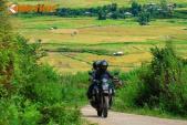 Phượt xe máy, ngắm mùa đẹp nhất trên Mù Căng Chải