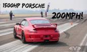 """Quái vật 911 GT3 1500hp """"lồng lộn"""" ở vận tốc 320 km/h"""