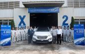 Hyundai Thành Công xuất xưởng chiếc Santa Fe thứ 4000
