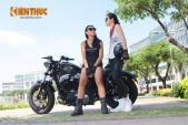 """Mẫu Việt cá tính bên """"xế nổ"""" Harley Forty-Eight 2016"""