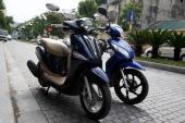 So sánh xe máy Honda Vision và Yamaha Nozza