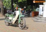 """Ngắm """"cổ vật hàng hiếm"""" Honda C50 Dame 1967 tại Hà Nội"""
