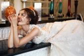 Ninh Dương Lan Ngọc làm cô dâu