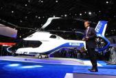 Cận cảnh trực thăng H160 của Airbus do Peugeot thiết kế