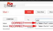 10 lỗi khi sử dụng email phổ biến nhất hiện nay