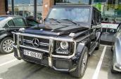 Mercedes G63 giá hơn 7 tỷ lăn bánh trên phố Sài Gòn