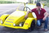 Thợ Việt chế xe 3 bánh