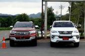 """Toyota Fortuner và Ford Everest phiên bản 2016 """"đối đầu"""""""