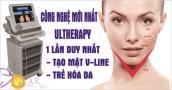 Khuyến mại 75% công nghệ căng da, xóa nhăn Ultherapy