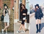 Street style đơn giản mà cuốn hút của 3 Á hậu Việt