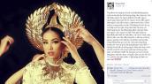 Hé lộ hình ảnh đầu tiên về trang phục dân tộc của Phạm Hương