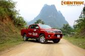 Lần đầu trải nghiệm bán tải Toyota Hilux 2016 tại Việt Nam
