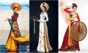 So sánh quốc phục của Phạm Hương với các đại diện Việt từng thi Miss Universe