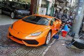 """Siêu xe Lamborghini Huracan thứ 7 """"màu độc"""" tại Việt Nam"""