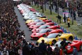 """100 siêu """"ngựa Ý"""" Ferrari tung vó trên đất Nhật"""