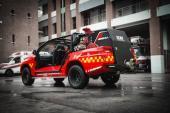 Xe cứu hỏa mini sự phù hợp trong đô thị