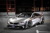 Trầm trồ trước BMW i8 độ widebody đầu tiên trên Thế giới