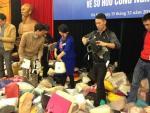 Tiêu hủy hàng nghìn túi xách