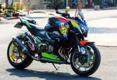 Kawasaki Z800 của biker Việt