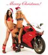 """""""Bà già Noel"""" nóng cùng môtô khủng trước Giáng sinh"""