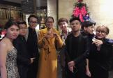 Ảnh độc quyền: Phạm Hương tươi rói sau đêm chung kết HHHV